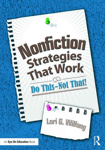 Nonfiction Strategies That Work Do This--Not That! book cover