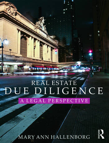 Real Estate Due Diligence A legal perspective book cover