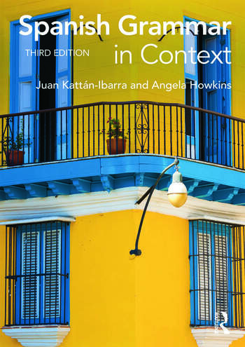 Spanish Grammar in Context book cover
