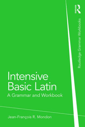 Intensive Basic Latin A Grammar and Workbook book cover