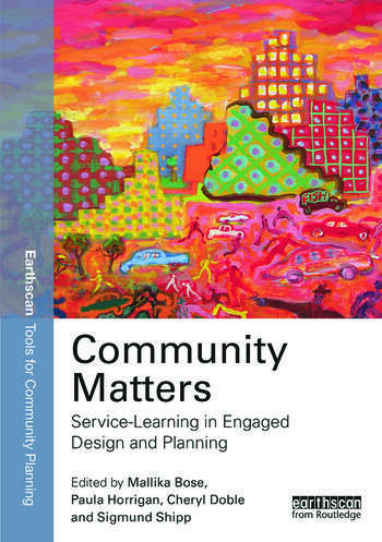 Community Matters: Service-Learning in Engaged Design and Planning book cover