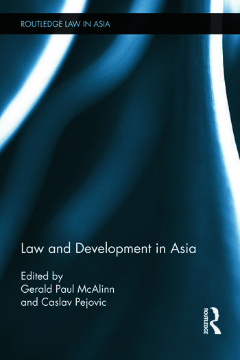 Law and Development in Asia book cover