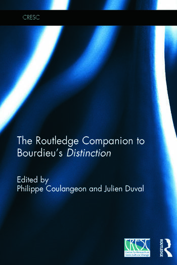 The Routledge Companion to Bourdieu's 'Distinction' book cover