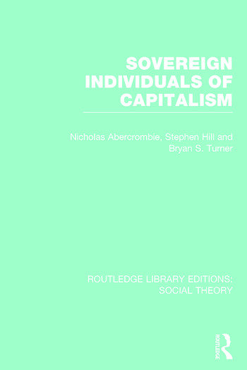 Routledge Library Editions: Social Theory book cover