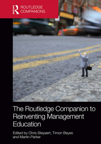 The Routledge Companion to Reinventing Management Education book cover