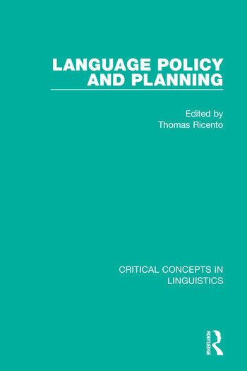 Language Policy and Planning book cover