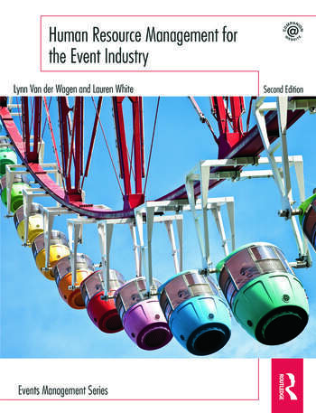 Human Resource Management for the Event Industry book cover