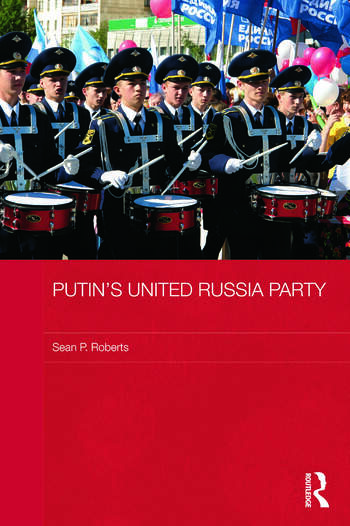 Putin's United Russia Party book cover