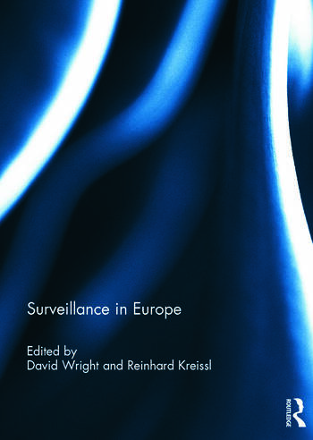 Surveillance in Europe book cover