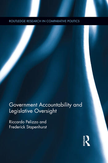 Government Accountability and Legislative Oversight book cover
