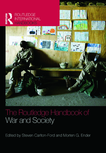 The Routledge Handbook of War and Society Iraq and Afghanistan book cover