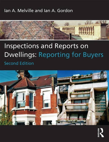 Inspections and Reports on Dwellings Reporting for Buyers book cover