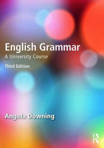 English Grammar A University Course book cover