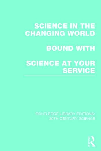 Routledge Library Editions: 20th Century Science book cover