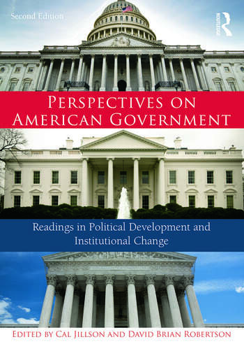 Perspectives on American Government Readings in Political Development and Institutional Change book cover