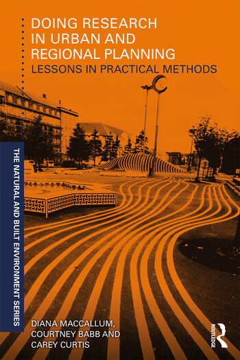 Doing Research in Urban and Regional Planning Lessons in Practical Methods book cover