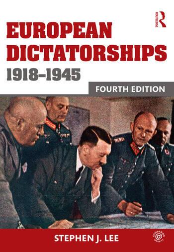 European Dictatorships 1918-1945 book cover