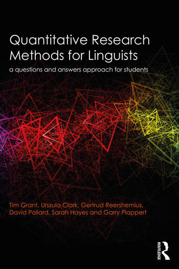 Quantitative Research Methods for Linguists a questions and answers approach for students book cover
