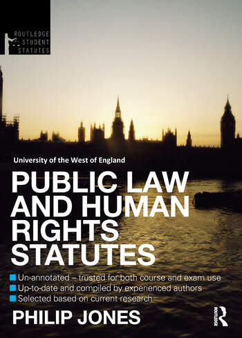 Public Law and Human Rights Statutes book cover
