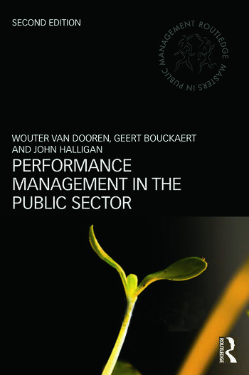 Performance Management in the Public Sector book cover