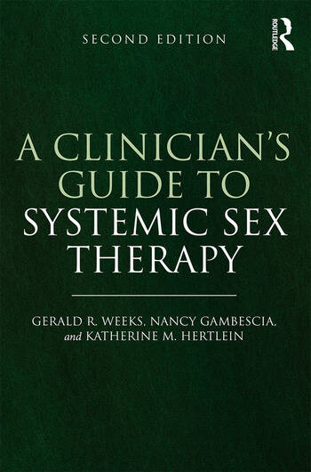 A Clinician's Guide to Systemic Sex Therapy book cover