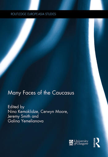Many Faces of the Caucasus book cover