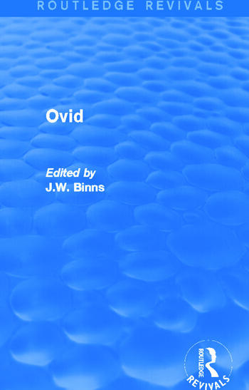 Ovid (Routledge Revivals) book cover