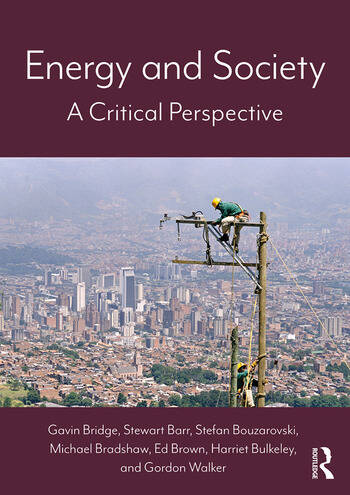 Energy and Society A Critical Perspective book cover