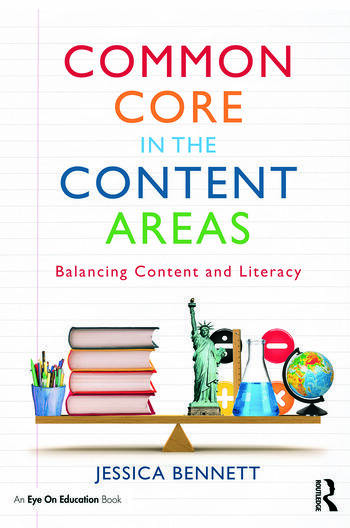 Common Core in the Content Areas Balancing Content and Literacy book cover