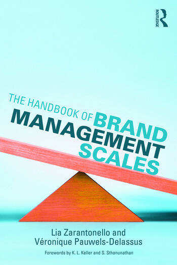 The Handbook of Brand Management Scales book cover
