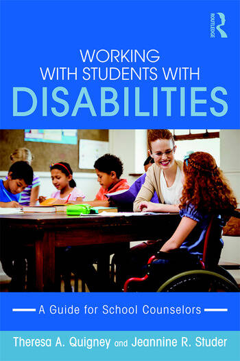 Working with Students with Disabilities A Guide for Professional School Counselors book cover