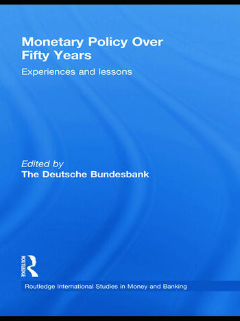 Monetary Policy Over Fifty Years Experiences and Lessons book cover