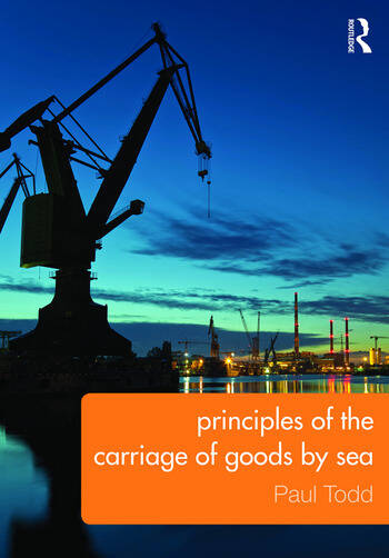 Principles of the Carriage of Goods by Sea book cover