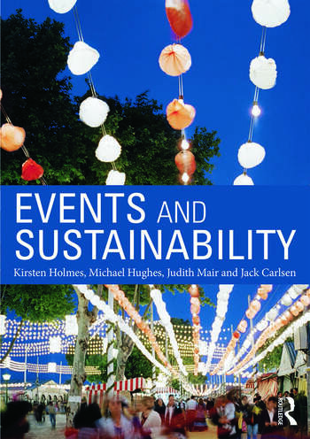 Events and Sustainability book cover