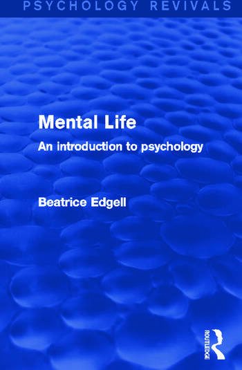 Mental Life An Introduction to Psychology book cover