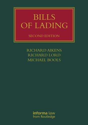 Bills of Lading book cover