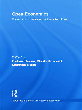 Open Economics Economics in relation to other disciplines book cover