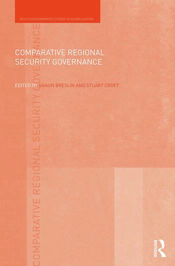 Comparative Regional Security Governance book cover