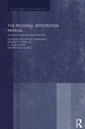 The Regional Integration Manual Quantitative and Qualitative Methods book cover