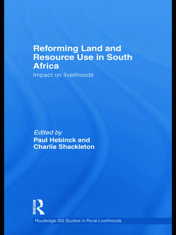 Reforming Land and Resource Use in South Africa Impact on Livelihoods book cover