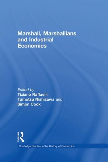 Marshall, Marshallians and Industrial Economics book cover