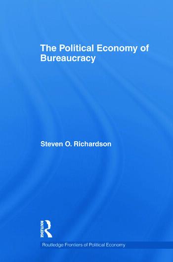 The Political Economy of Bureaucracy book cover