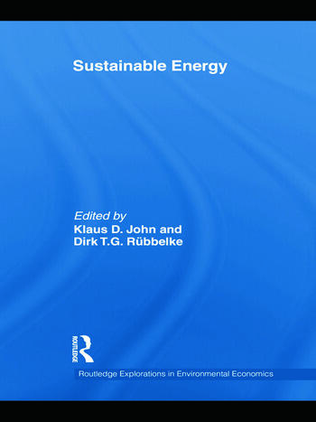 Sustainable Energy book cover