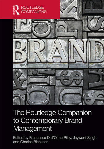 The Routledge Companion to Contemporary Brand Management book cover