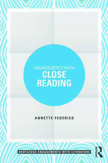 Engagements with Close Reading book cover
