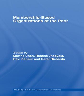 Membership Based Organizations of the Poor book cover