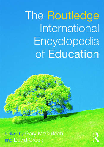 The Routledge International Encyclopedia of Education book cover