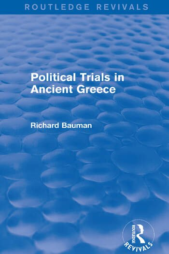 Political Trials in Ancient Greece (Routledge Revivals) book cover