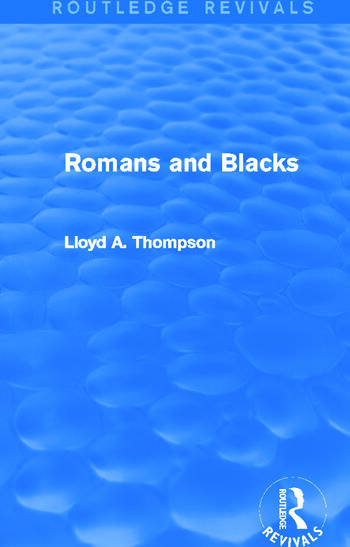 Romans and Blacks (Routledge Revivals) book cover