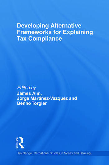 Developing Alternative Frameworks for Explaining Tax Compliance book cover